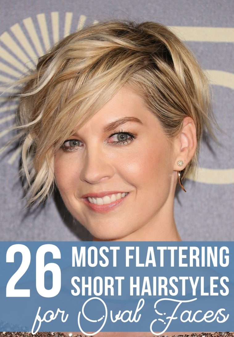 10 Most Flattering Short Hairstyles for Oval Faces