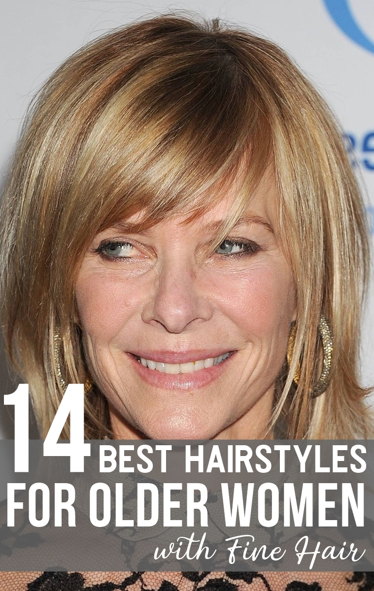 14 Best Hairstyles For Older Women With Fine Hair