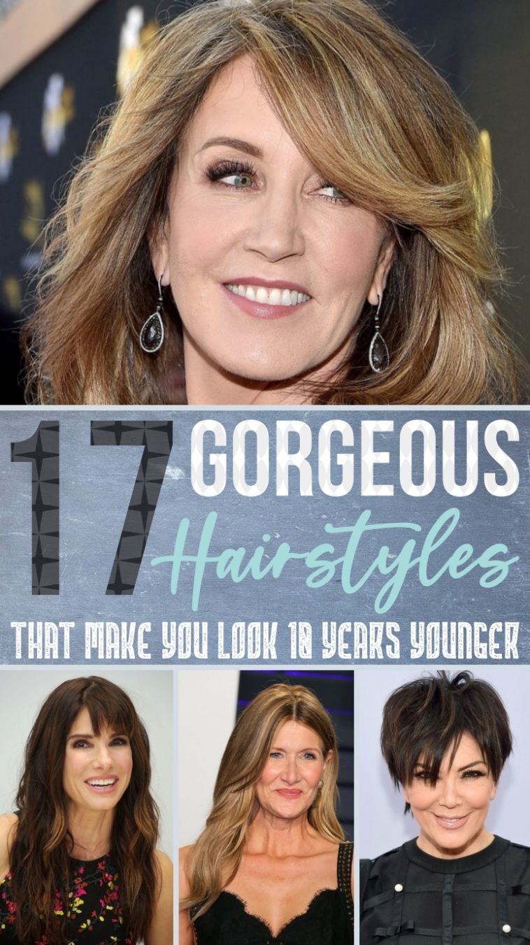 10 Gorgeous Hairstyles That Make You Look 10 Years Younger