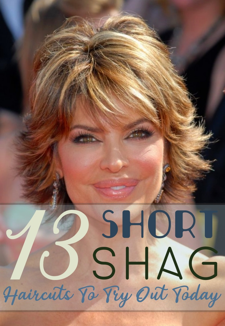 13 Short Shag Haircuts To Try Out Today